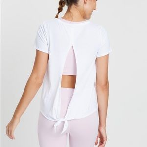 Gap Fit Tie Back Tee